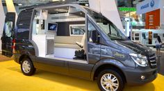 Mercedes-Benz offers several popular platforms for van camper conversions. In fact, it claims that its Sprinter van is the number one base vehicle of luxury campers. Recently the German manufacturer showcased three camper conversions of its own.