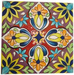flower stencil designs mexican - Google Search