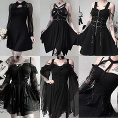 DarkinCloset sur Instagram: Live deep and suck out all the marrow of life. Which dress kill ur heart? 1st reference: DW159 2nd reference: DW165 3rd reference:… Dark Fashion, Goth, Deep, Live, Heart, Instagram, Dresses, Style, Gothic