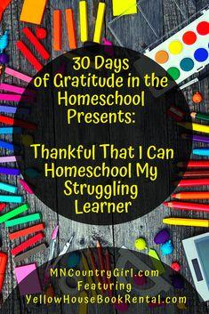 Homeschooling a stru