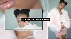 Well… I'm not sure if you would consider fall weather in LA cold, but to me, anything below 75 degr. Diy Fashion Videos, Cloaks, Fall Weather, I Tried, Capes, Faux Fur, Fur Coat, Sewing, Youtube