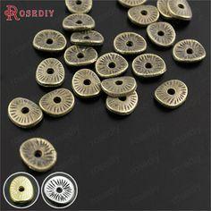 Disques en alliage de Zinc plaqué Bronze Antique, 29958 pièces, 6*5MM, disques ronds ou incurvés, badges d'entretoise brossés, accessoires pour bijoux, 6*5MM,Profitez de super offres, de la livraison gratuite, de la protection de l'acheteur et d'un retour simple des colis lorsque vous achetez en Chine et dans le monde entier ! Appréciez✓Transport maritime gratuit dans le monde entier ✓Vente à durée limitée✓Facile à rendre