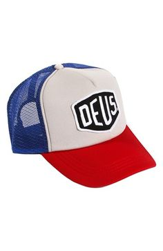 7043f206ec1 Deus Ex Machina  Baylands  Mesh Trucker Cap Shield Logo