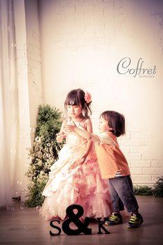 先日のお客様 *Sちゃん&Kくん*|Coffret photography staff blog