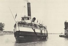 The Empress of India steam ship at Port Dalhousie