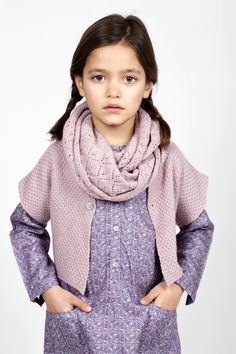 aw14: Coquelicot's shades of mauve and lilac, at the TFNYusa Showroom in New York. www.tfnyusa.com