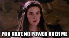 labyrinth and my kingdom is great you no power over me - Cerca con Google