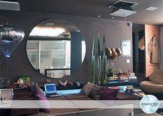 Espelho Redondo /   http://www.atlanticbox.com.br/site/espelhos-redondos/