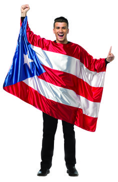 #1987 Flag Tunic Puerto Rico - Need a great outfit for this year's puerto rican day parade? #flag #puertoricanparade #PuertoRico #halloween #festival