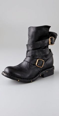 Jeffrey Campbell motorcycle boots