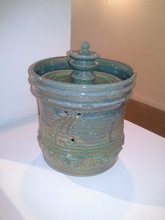 Oriental Jar & Lid ~ Ken Ferber
