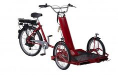 Lintech Transporter E-Drive (Rolstoel transporter Wheelchair transport bicycle)