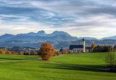 Wilparting (Irschenberg) Bavaria, Golf Courses, Wanderlust, Mountains, Places, Communities Unit, World, Wedding, Nice Asses