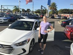 """Ms. Morgan came into Lakeland Automall in the hopes of finding a new vehicle. With the help of salesman Billy Atshan, Ms. Morgan left with a 2017 Hyundai Elantra! """"Billy went above and beyond in customer service as always! Very trustworthy and to the point! We always have a great experience when we are here!"""" We really appreciate your business here with us! We hope that you are enjoying your new Hyundai Elantra and please; if there is anything that we can do, don't hesitate to ask… We are…"""