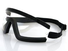 Bobster BW201C Wrap Around Goggles,Black Frame Clear Lens,one size Learn more by visiting the image link.