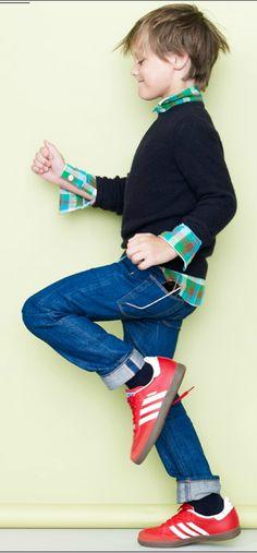 red shoes! www.creativeboysclub.com