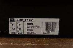 Adidas Originals NMD R2 PK Real Boost Dark Blue White Men Running Shoes10
