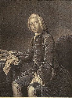 An 1880 engraving of William Pitt the Elder by Richard Boyle