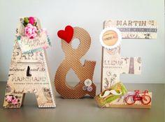 Letras decoradas   Dear Grace