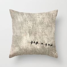 Doves, palomas Throw Pillow by dissabtes - $20.00