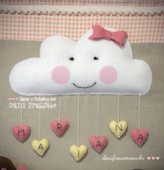 Nuvem de feltro