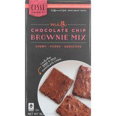Cisse Brownie Mix - Fair Trade - Milk Chocolate Chip - 16.2 oz - case of 6