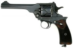 Webley-Fosbery Self-Cocking Automatic Revolver