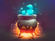 Environment Design: Magic Pot. by tubik.arts