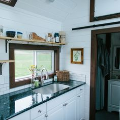 The Turtle Tiny House - A Tiny House with a Bedroom!   Humble Homes