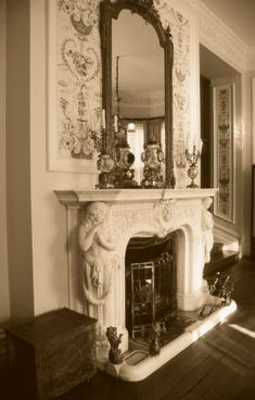 A Victorian Fireplace �iStockphoto / Philartphace