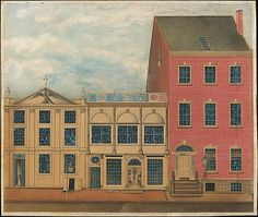 Formerly attributed to John Rubens Smith (American, 1775–1849). The Shop and Warehouse of Duncan Phyfe, 168–172 Fulton Street, New York City, ca. 1816. The Metropolitan Museum of Art, New York. Rogers Fund, 1922 (22.28.1) #newyork #nyc