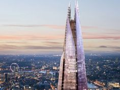 The Shard, Europe's tallest building, will officially open on July 5, 2012.