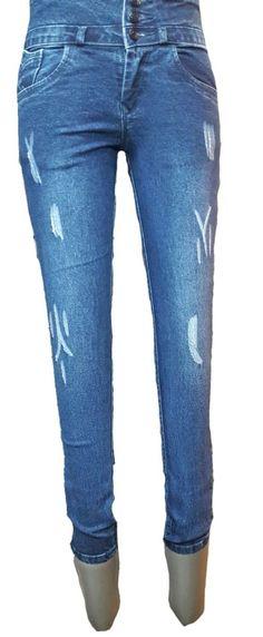 Ladies/Women/ Girls Stretchable Slimfit funkylook Jeans TU1295