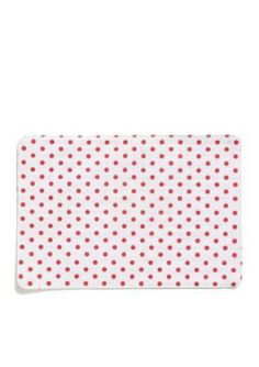 VIETRI  Old St. Nick Red  White StripedDot Reversible Placemat