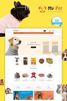 My Cute Pet Store - The Specials Pet Store Template is a good choice for selling #Fashion,#Electronics, #Art, #webibazaar #webiarch #Bicycle, #Furniture, #design #template #flower #kidswear #Cake #Furniture #Flower #Food #appliances #bag #ceramic #cosmetic #fashion #flower #coffee #undergarments #home #bodysuits #typography #beachwear #WebsiteShoppingCart #lingerie #eCommerce #jewellery #organic #pet-store #power-tool #resturant #shoes #watch