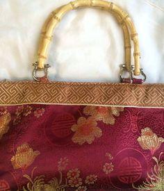 Купить Рез Япония Винтажная сумка шелк - сумка женская, сумка из ткани, винтаж
