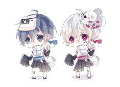 #うたいて #ニコニコ #そらる #まふまふ #日本 Neko Boy, Chibi Boy, Cute Chibi, Anime Chibi, Anime Oc, Vocaloid, Satsuriku No Tenshi, Cute Anime Boy, Darling In The Franxx