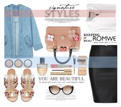 """""""romwe day style"""" by nataskaz ❤ liked on Polyvore featuring Steve J & Yoni P, Furla, Paul Andrew, By Terry, Bobbi Brown Cosmetics, Estée Lauder, Stila, Marni and Cutler and Gross"""