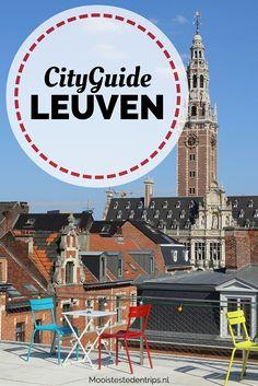 Café M (van M- van Museum), een geweldig museum met veel bieren uit de regio Leuven | Mooistestedentrips.nl