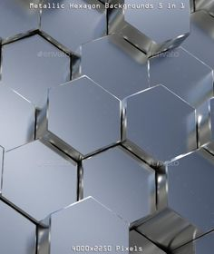 Buy Metallic Hexagon Backgrounds by Phantomatic on GraphicRiver. Five silver metal hexagon backgrounds in HQ render with slightly visible depth of field and supersampli. Banner Background Images, Background Images Wallpapers, 3d Background, Textured Background, Wallpaper Backgrounds, Metallic Wallpaper, Wood Wallpaper, Phone Screen Wallpaper, Cellphone Wallpaper