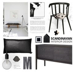 Scandinavian style by emmycassandra on Polyvore featuring interior, interiors, interior design, home, home decor, interior decorating, CB2, By Nord, PTM Images and Korridor