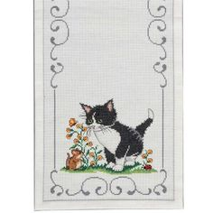 Craftways® Cats Table Runner Counted Cross-Stitch Kit