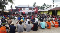Official report from the knpb timika region about the activities of campanye referendum