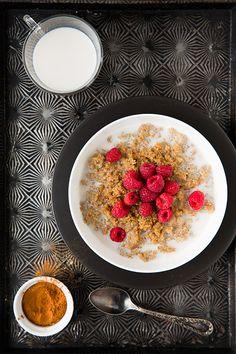 Chai Spiced Breakfast Quinoa // Cooking Classy