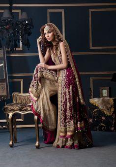 Beautiful Stylish Indian Chiffon Sharara Designs and Bridal Outfits Dallas Texas Bridal Wear Pakistani Bridal Couture, Pakistani Wedding Dresses, Pakistani Outfits, Indian Dresses, Indian Outfits, Punjabi Wedding, Indian Couture, Lehenga Choli, Anarkali