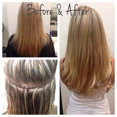 One track of hair extensions with 4 pieces of hand tied bohyme hair in color - stringcrass. Hair Extensions Tutorial, Sew In Hair Extensions, Braidless Sew In, Working Woman, Every Woman, Bangs, Track, Tie, Long Hair Styles