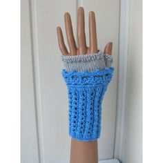 Gloves, knitted gloves, fingerless gloves, Women gloves, knitting and... (675 UAH) ❤ liked on Polyvore featuring accessories, gloves, mitten gloves, crochet mittens, knit gloves, crochet gloves and gray gloves