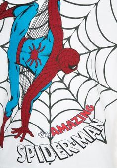 Marvel - SPIDERMAN - T-shirt print - white