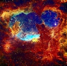 Massive stars lie within NGC 6357, an expansive emission nebula complex some 6,500 light-years away toward the tail of the constellation Scorpius.