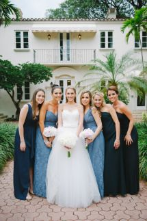 Bridesmaids Photos and Ideas - Style Me Pretty Weddings